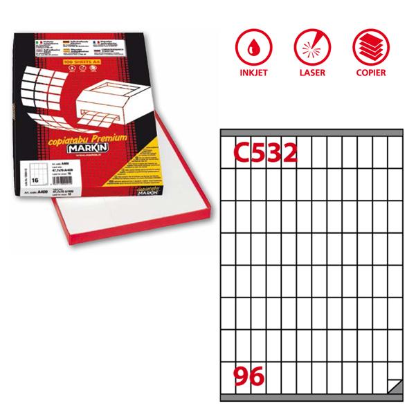 Etichette Carta Copy-laser-inkjet